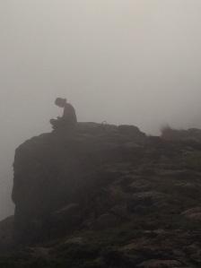 Artist in the mist